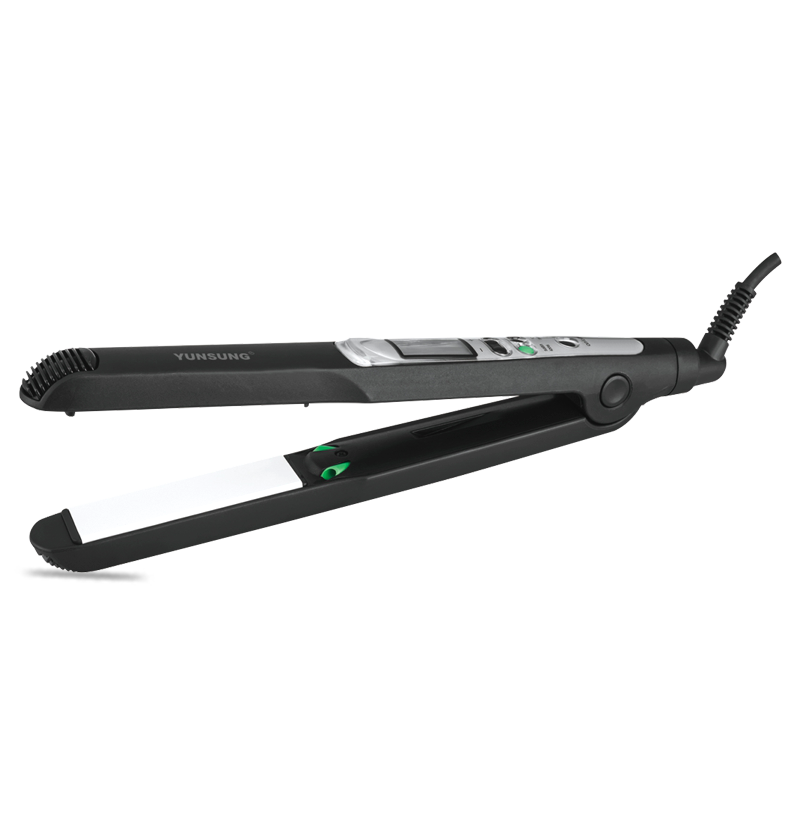 Enderezadora de pelo profesional iónica LCD
