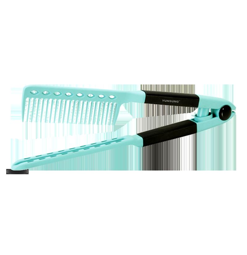 Productos para el cabello Accesorios para el peine del cabello Peine de plancha de pelo de plástico plegable